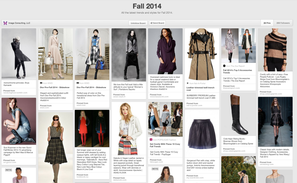 Fall Transition Board on Pinterest